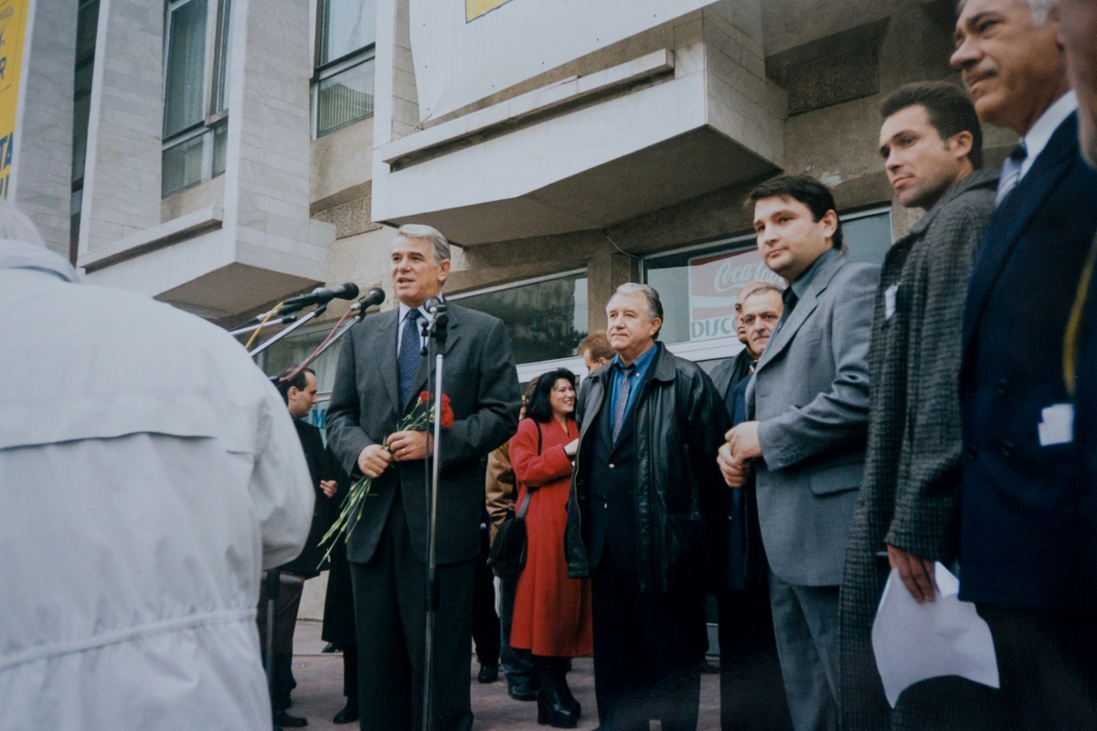 Cu Bogdan Liviu Ciuca si Teodor Melescanu